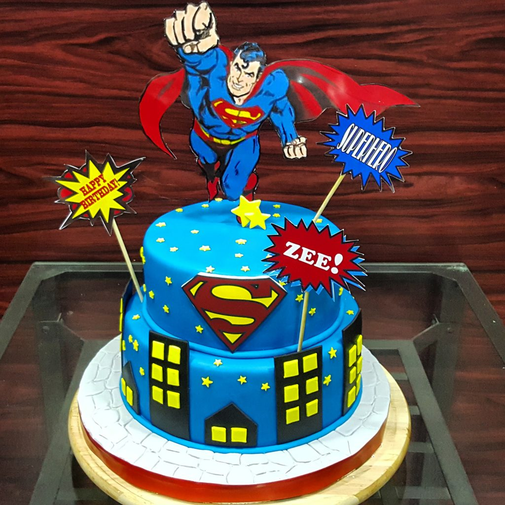 Superman Cake for boys
